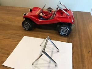 VINTAGE RC TAMIYA SAND ROVER ALLOY ROLL BAR FITS RE RE AND STREET ROVER