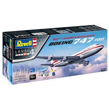 Revell 05686 Boeing 747-100 50th Anniversary Plane Model Kit Level 4 Scale 1:144