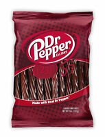 Dr Pepper Flavoured Licorice Candy Twists 142g