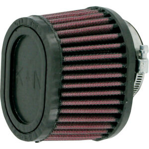 """K&N Universal Oval Clamp-On Air Filter 2 1/8"""" ID 55MM Flange (RU-0981)"""