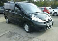 2014 (64) CITROEN DISPATCH 1.6 HDI PANEL VAN Black Bluetooth Clutch Done