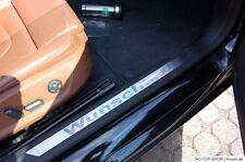 Edelstahl Einstiegsleisten Audi A1 A2 A3 A4 A5 A6 A7 A8 TT usw Wunschtext