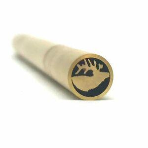 "ELK Mosaic Pin Inlay Custom Knife Making 1/4"" x 6"" Brass- 1 pin- MPELK"