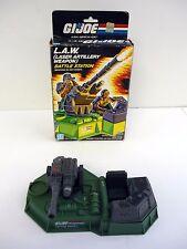 GI JOE LAW BATTLE STATION Vintage Action Figure Playset COMPLETE w/BOX 1986