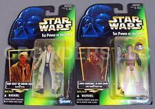 Star Wars PotF Skiff Guard Lando & Endor Gear Han Solo Holo Cardback Kenner NIP