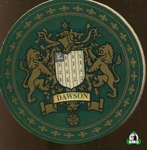English Heraldic Coaster: Dawson