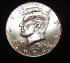 2003 D  Kennedy Half Dollar BU Uncirculated  Flat fee ship
