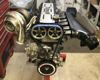 2JZ GTE Turbo - 1500 HP Street/Strip Engine Complete Toyota Supra 3.0 3.2 3.4