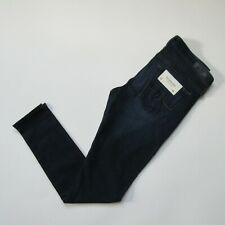 NWT AG Adriano Goldschmied Legging Ankle in Coal Blue Stretch Jeans 26