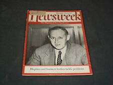 1939 JANUARY 30 NEWSWEEK MAGAZINE - HARRY HOPKINS - NW 4