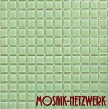 Mosaik Fliesen grün Glas Bad Küche Dusche Fliesenspiegel Art: 60-0502   10 Bögen