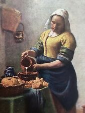 early 1900s medici masters in colour print - the cook !