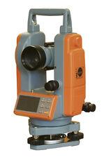 Nedo elektronischer Theodolit ET-5 mit optischem Lot 3-Fach Bautheodolit digital