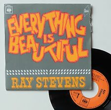 "Vinyle 45T Ray Stevens  ""Everything is beautiful"""