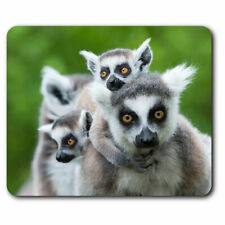 Computer Mouse Mat - Ring Tailed Lemur Wild Office Gift #12666