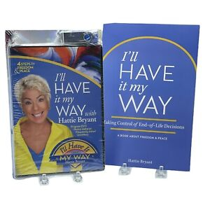 I'll Have It My Way Hattie Bryant 2 DVD Set + Freedom and Peace Book~ Bundle!!!
