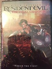 Resident Evil: The Final Chapter (DVD, 2017) Sealed New