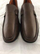 Santoni 'Lazzaro' Slip-on Size 8 D Brown Men's Shoes Retail $555