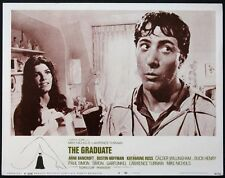 The Graduate Dustin Hoffman Katharine Ross 1968 Lobby Card