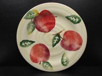 Culinary Arts Apples on Cream Background Salad Plate b95