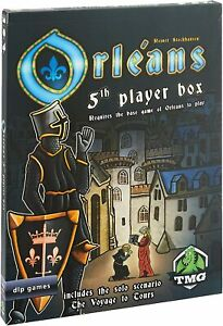 Tasty Minstrel Games Orleans 5Th Player Expansion Board Game