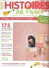 HISTOIRES DE PAGES N°57 LE MARIAGE / DETOURNEZ LES PEINTURES POUR TEXTILE