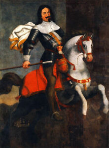 """high quality oil painting  handpainted on canvas """"general  riding on a horse"""""""