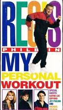 Regis Philbin My Personal Workout  VHS Video Tape 2000 New Sealed