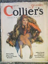 Collier's Magazine   November 7,1931   *Guy Hoff Cover*  GREAT ADS