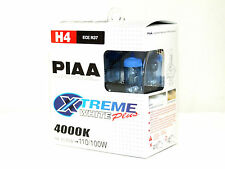 PIAA 15224 Xtreme White Plus H4 TWIN PACK LIGHT BULBS 4000K