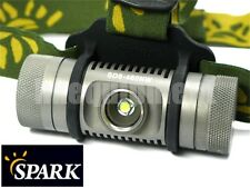 Spark SD6-460NW Cree XP-L NW Headlamp Headlight+Magnetic Pad+Clip+Reflector