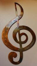 TrebleClef --Copper/Bronze Musical Note Music Metal Wall Art Decor