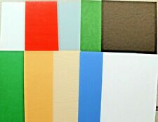 10 x A5 Sheets Assorted Textured Card 250/300gsm NEW