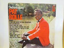 INTRODUCING PAT ROLLE KAPP STEREO LP # 3579 NEAR MINT VINYL COVER LIGHT WEAR