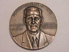 MEDAILLE MEDAL DOYEN GASTON GIRAUD 1961