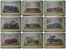 18 Oldtimer Bilder Kunstdrucke aus den 60er/70er Jahren Bentley Benz Ford DKW