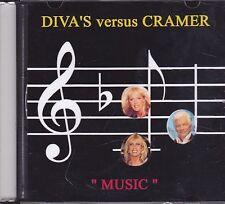 Divas Versus Cramer-Music Promo cd single