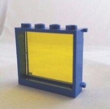 Custom TRANS YELLOW lego window glass 1x4x3 space 6986 6886 6955 6471 6895 10185