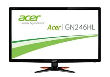 Acer GN246HLB 24 inch LED 3D 144Hz Gaming Monitor - Full HD, 1ms, HDMI, VESA