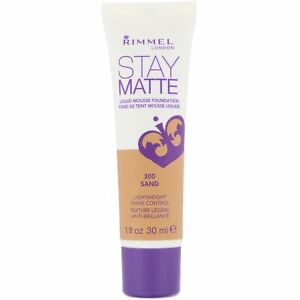 Rimmel Stay Matte Liquid Mousse Foundation 30ml - Choose Your Shade - Brand New
