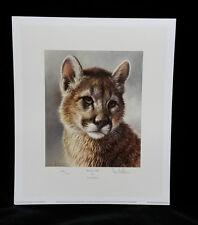 Puma Cachorro Por Ian Nathan, Edición Limitada, impresión firmada & Estampado