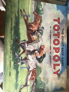 Totopoly The Great Race Game