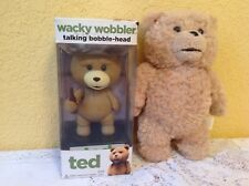 "TED  FIGURE LOT FUNKO 6"" BOBBLE HEAD & TALKING 8"" PLUSH ""TED"" MOVIE"