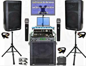 Club Audio System, Restaurant sound system dj equipment Peavey custom racked sys