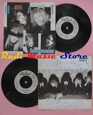 LP 45 7'' HEART There's the girl Bad animals 1987 uk CAPITOL CL 473 no cd mc dvd