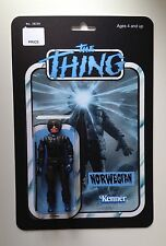 Custom made 3 3/4 Norwegian The Thing vintage style action figure MOC