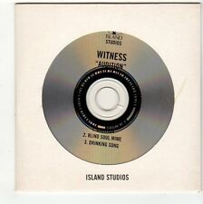 (FC527) Witness, Audition - 1998 DJ CD