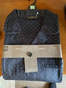 M & S Mens Pyjamas UK Size XL ( Brand New )