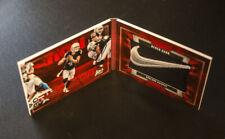 2017 Preferred 1/1 Nike Swoosh Derek Carr Booklet Oakland Raiders One of One