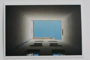 """WOLFGANG TILLMANS: """"himmelblau"""", 2005 Art-Postcard"""